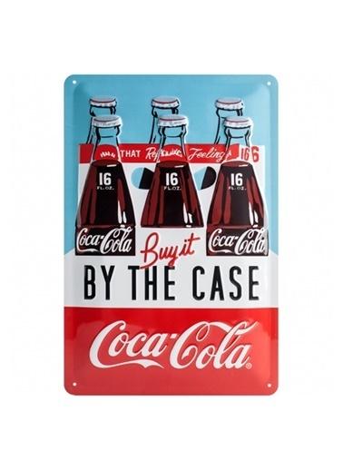 Nostalgic Art Coca Cola Case Metal Pano Renkli